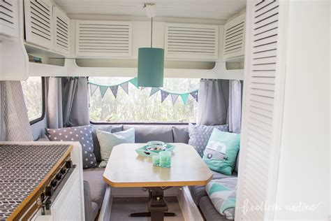 wohnwagen renovieren innenausbau tipps zur farbe wohnmobil gestaltung