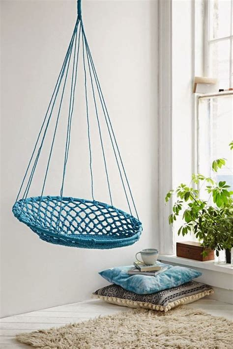 hanging swing chair indoor best 25 indoor hammock chair ideas on pinterest swing