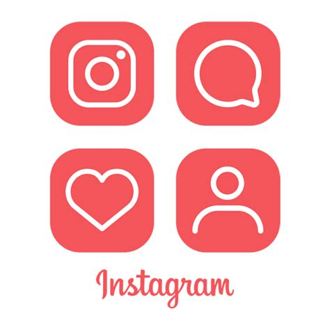 instagram logo icon red instagram icon ig icon