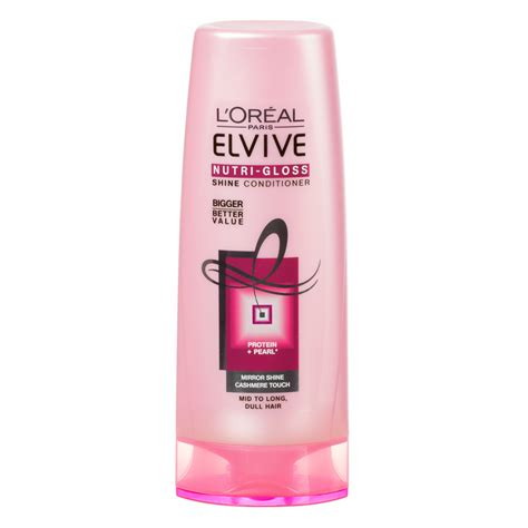 Kondisioner Loreal b m l oreal elvive nutri gloss shine conditioner 500ml