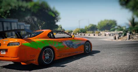 fast and furious gta 5 toyota supra the fast and the furious vinyl gta5 mods com