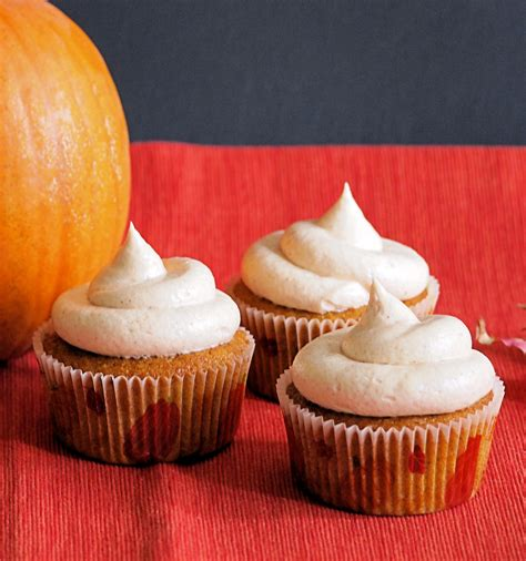 pumpkin cupcakes pumpkin cupcakes with cinnamon cream cheese frosting