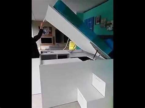 letto con armadio sotto container il letto con l armadio sotto