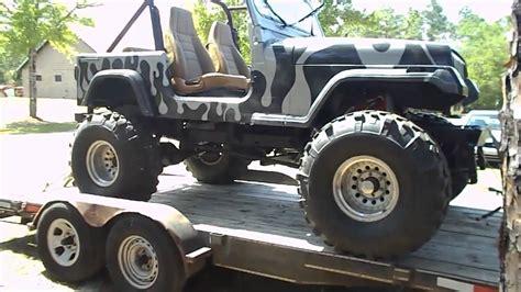 camo jeep yj jeep wrangler lifted cj 5 with camo colors