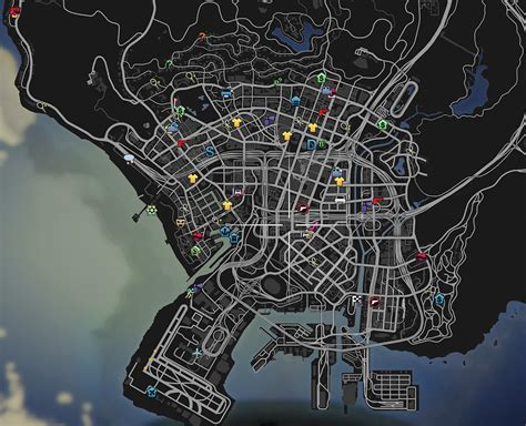 colorful hud weapons radio amp map blips gta5 mods com