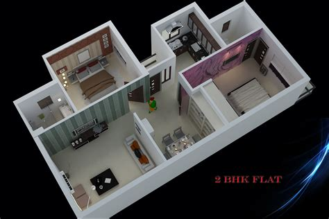 home design for rectangular plot 1175 sq ft 2 bhk 2t apartment for sale in miraj group
