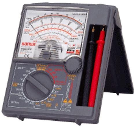 Multimeter Listrik multimeter listrik sinelectronic