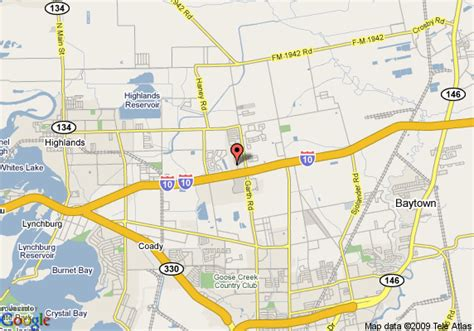 map of baytown texas map of suburban extended stay baytown baytown