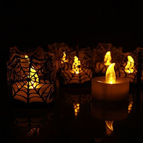 led pumpkin tea lights tbw flameless tea lights candles battery powered led
