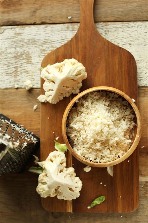 Things To Make With Rice Paper - how to make cauliflower rice minimalist baker