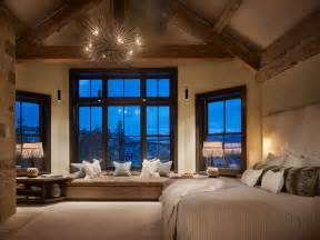 Bedroom Decorating Ideas Large Window Rustic Contemporary Master Contemporary Bedroom