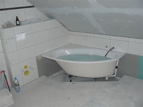 wasseranschluss badewanne bautagebuch fronhoven 187 verlegen