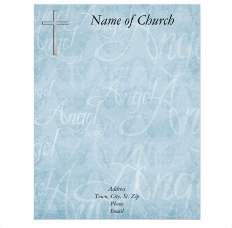 christian letterhead templates free 11 church letterhead templates free word psd ai