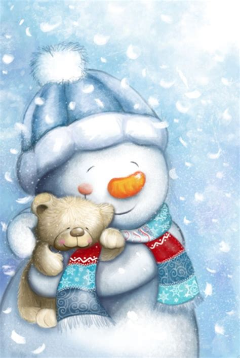 Snowman Poster Color Black Hitam Cat 17 Best Images About A Winter Illustrations On