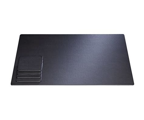 Faux Leather Desk Mat by Desk Conference Mats Pads Blotter Faux Leather