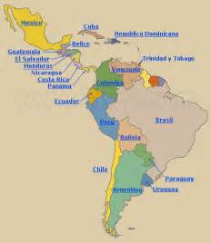 speaking countries in south america map tiwy paises de america