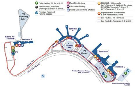 lga terminal map laguardia airport map