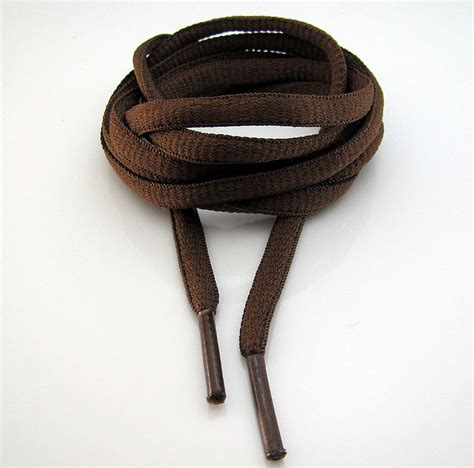 oval waxed casual shoelaces brogue leather