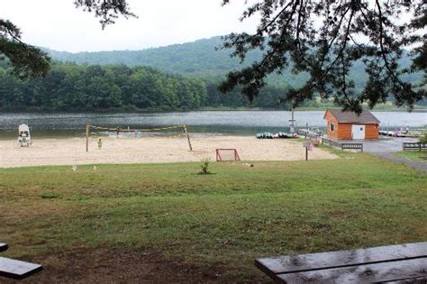rocky gap resort located in the state park overlooking