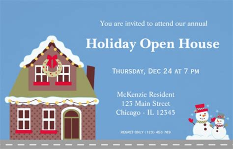 open house postcard template 22 open house invitation templates free sle exle