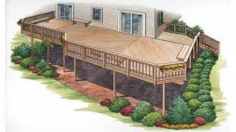 2 Story Home With Deck Superb 2 Story Bungalow Floor Plans 8 House Plans With