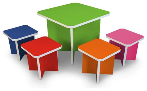 Tables For Toddlers by Way Basics Table Set Modern Tables