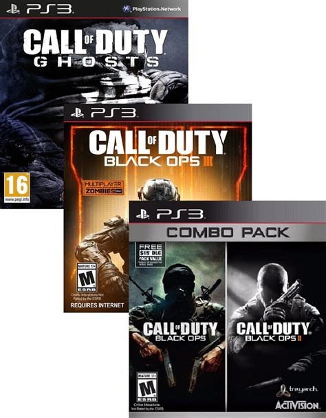 Kaos Call Of Duty Black Ops Iii 1 call of duty black ops 1 2 3 ghosts bundle ps3 gaming megastore