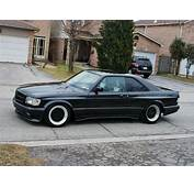 1986 Mercedes 560SEC AMG 60 Widebody  German Cars For