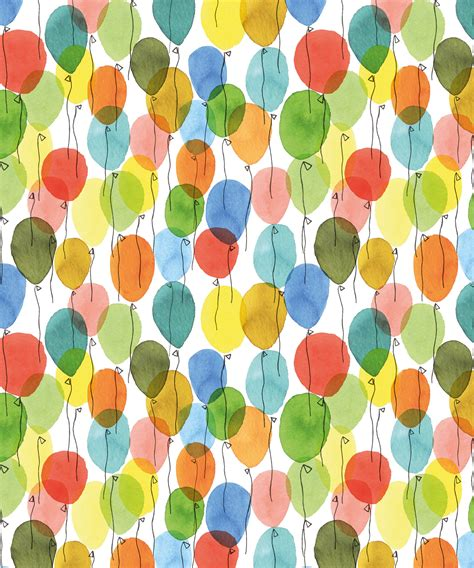 color of balloons cb patterns illustrations