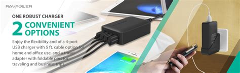 Charger 40w Fast Charging 4 Usb Port A2142621 Olb1792 ravpower 40w 8a 4 port usb charger charging