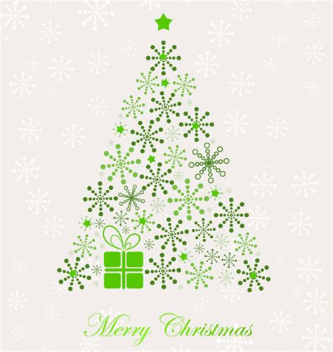 abstract christmas tree vector free vector graphics