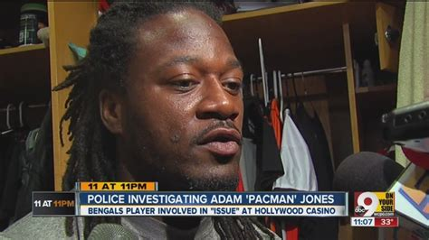 Adam Pacman Jones Criminal Record Bengals Player Tells Cop I You Die