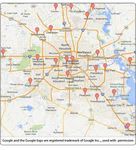 zip code map houston area