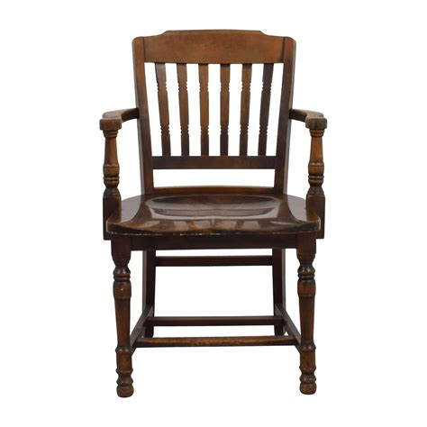 vintage wooden desk chair 88 off antique wood spindel chair chairs