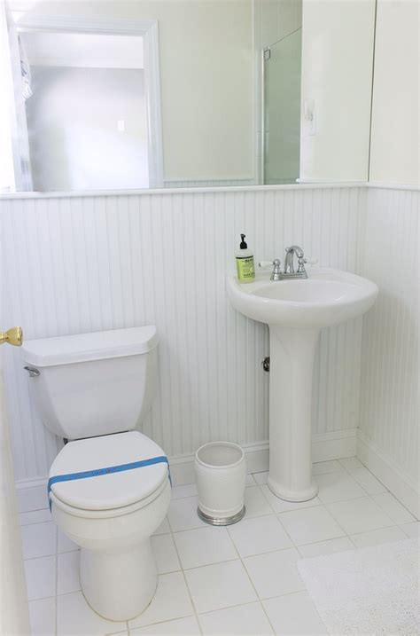 our small guest bathroom makeover the quotbeforequot and quotafter