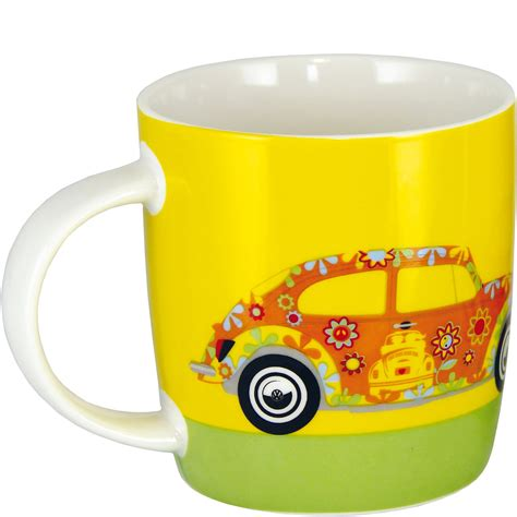volkswagen beetle flower kubek do kawy vw beetle flower sklep internetowy