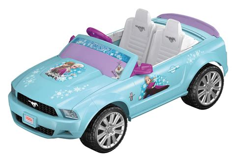 frozen mustang blue disney frozen power wheels ford mustang ride on car