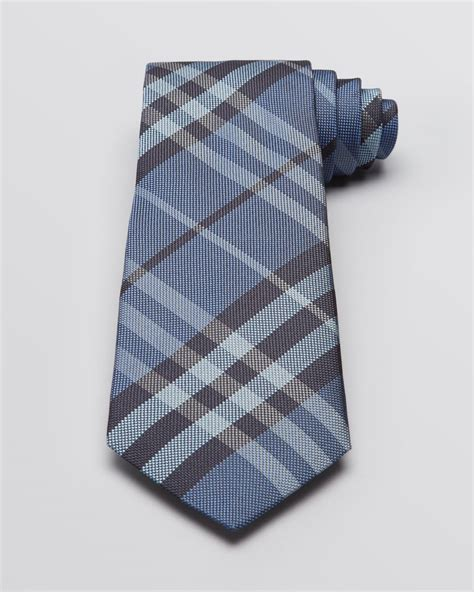 burberry regent check woven classic tie in for