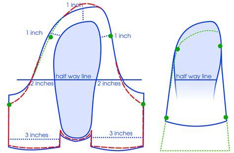 pattern up properly ceruleanjay developing a moccasin boot pattern using