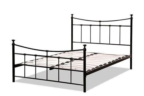 Three Quarter Bed Frame Emily Black Three Quarter 3 4 Bed Frame