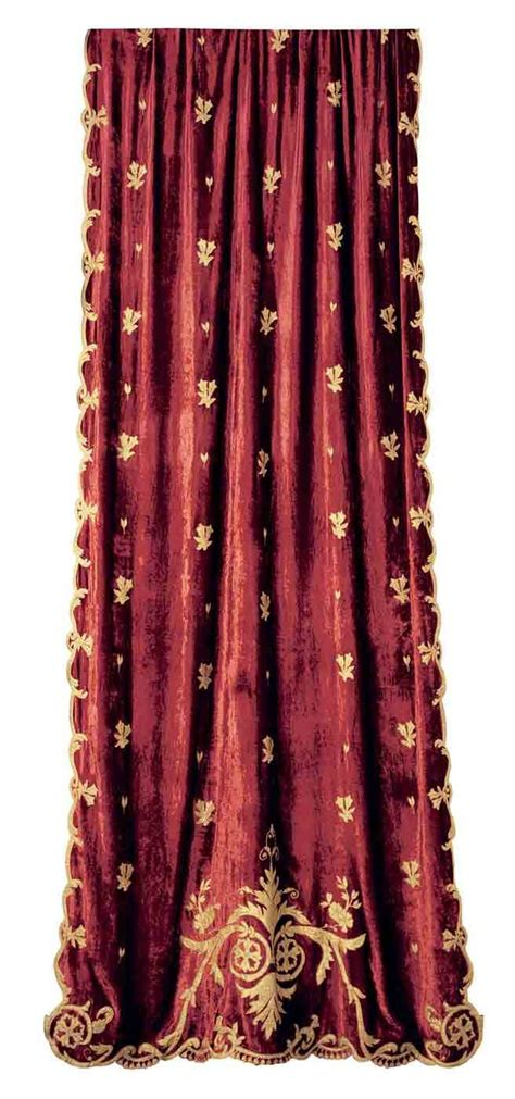 red velvet curtain panels wine velvet curtain panel with gold embroidery a velvet