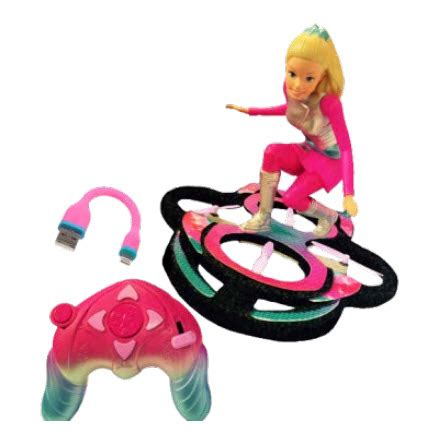 barbie star light adventure flying rc hoverboard barbie archives kids toys store