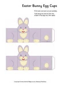 easter bunny egg cup printable