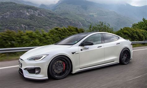 Tesla Design Prior Design Tesla Model S P100d Shows Ev Tuning Potential