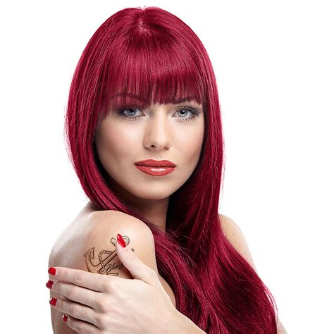 manic panic vire red hair manic panic amplified semi permanent vire red colour