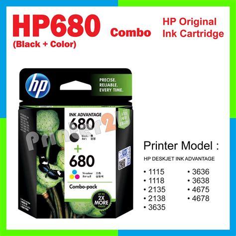 Catridge Hp Deskjet 680 Black Original ori hp original inkjet ink cartridg end 2 10 2018 12 25 am