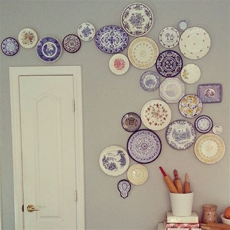 best 25 plate display ideas on plate wall