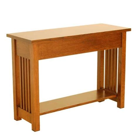 mission console table american mission console table