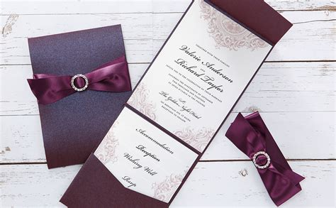 Pocketfold Wedding Invitations by Handmade Wedding Invitations Personalised Wedding Cards