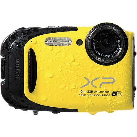 Fujifilm Finepix Xp70 Fujifilm Finepix Xp70 Digital Yellow 16409856 B H Photo